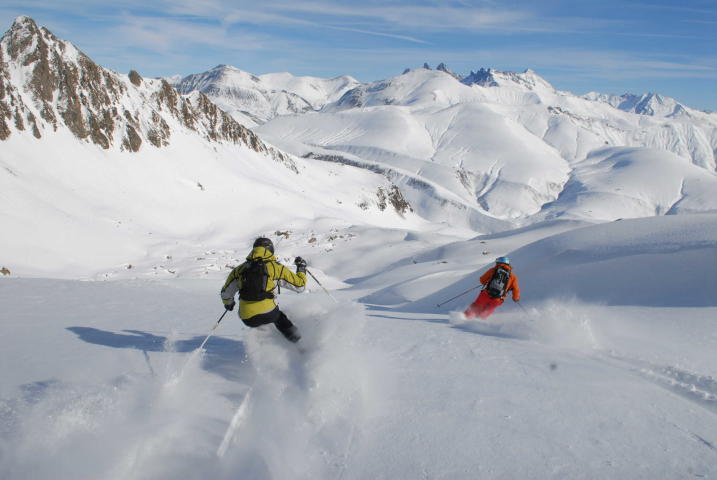 The Grand Sablat Glacier