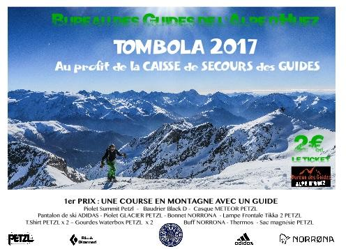 Tombola des Guides 2017 !