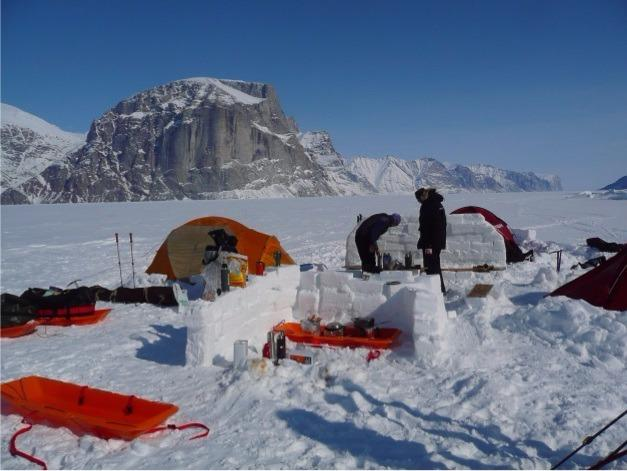 expedition ski en terre de baffin